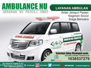 Layanan Ambulan Gratis Dari Laziznu Trenggalek