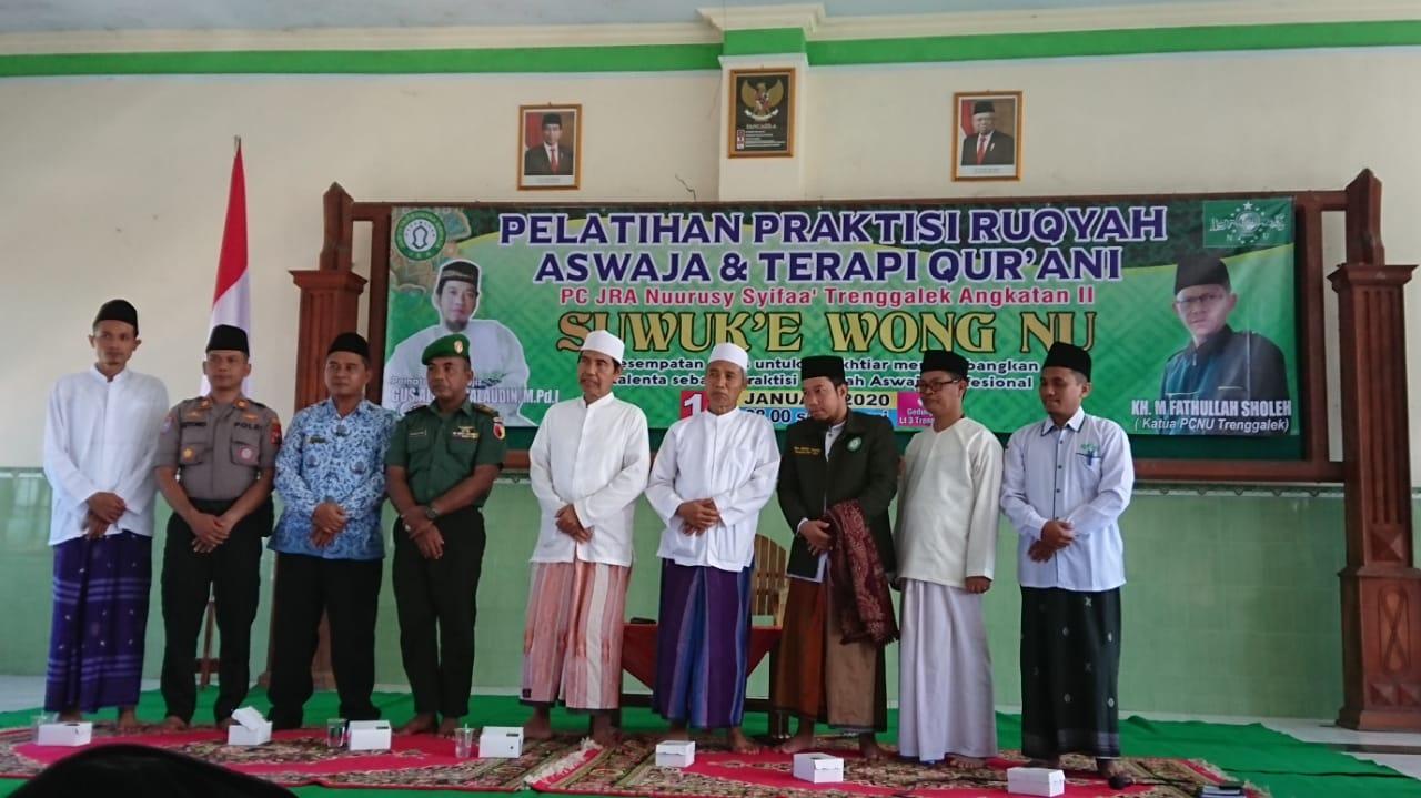 Agus Allama Alaudin, Rois Syuriah PCNU Trenggalek, KH. Ma'shum, JRA.