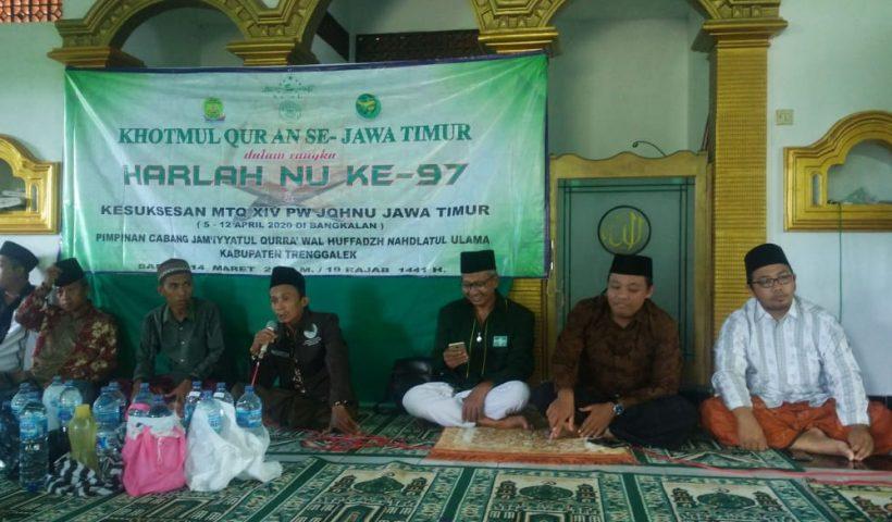 jamiyah qura wal huffadz kabupaten trenggalek gelar khotmil quran