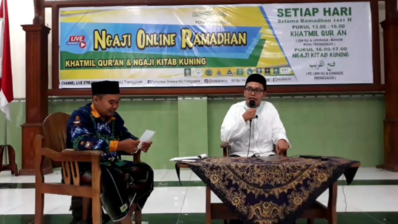 Khatmil Quran JQH NU dan LBM NU, Gus Afrizal alumni Al Azar Kaior Mesir mengasuh ngaji kitab kuning fathul qarib