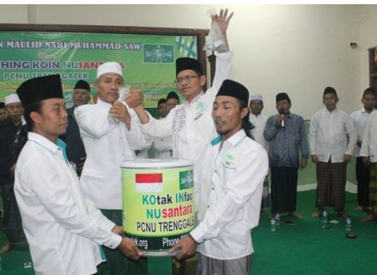 Kegiatan PCNU Trenggalek Luncurkan Koin Nusantara