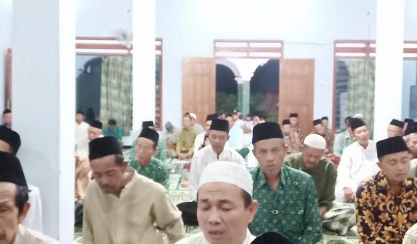 Lailatul Ijtima' Ranting NU Senden, Kecamatan Kampak, Kabupaten Trenggalek