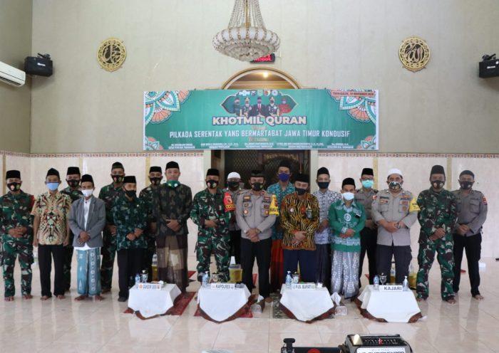 Khotmil Quran serentak JQHNU Trenggalek se-Jawa Timur bareng Polres