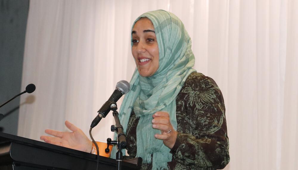 muslimah berkarya, muslimah berdaya - yasmin mogahed nu trenggalek amustcom au